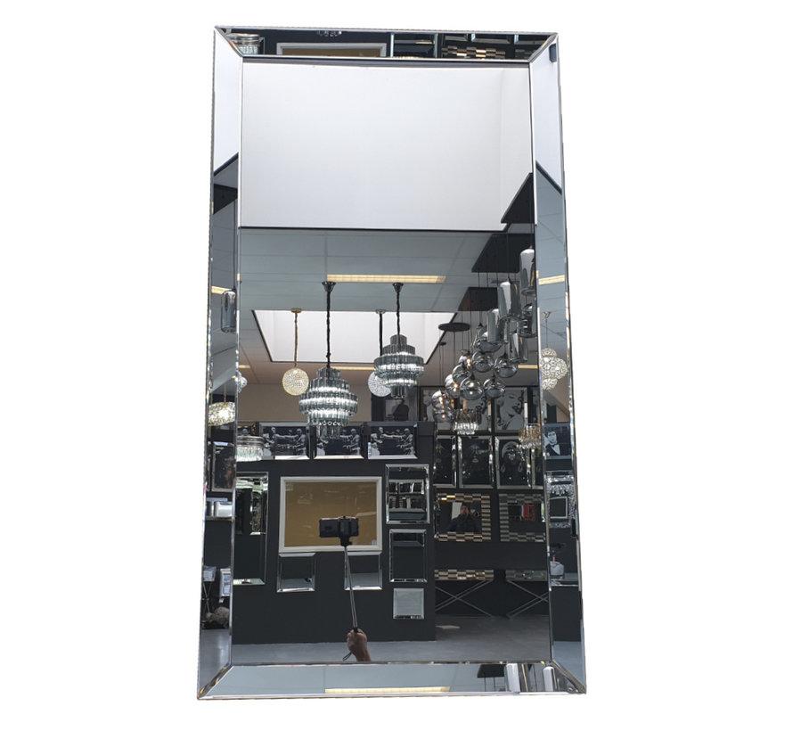 Spiegel - Antraciet (In 4 kleuren 130x70x4 cm)