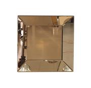 Erik Kuster Style Spiegel - Brons ( in 4 kleuren 40x40 cm)