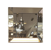 Erik Kuster Style Spiegel - Sepia ( in 4 kleuren 40x40 cm)