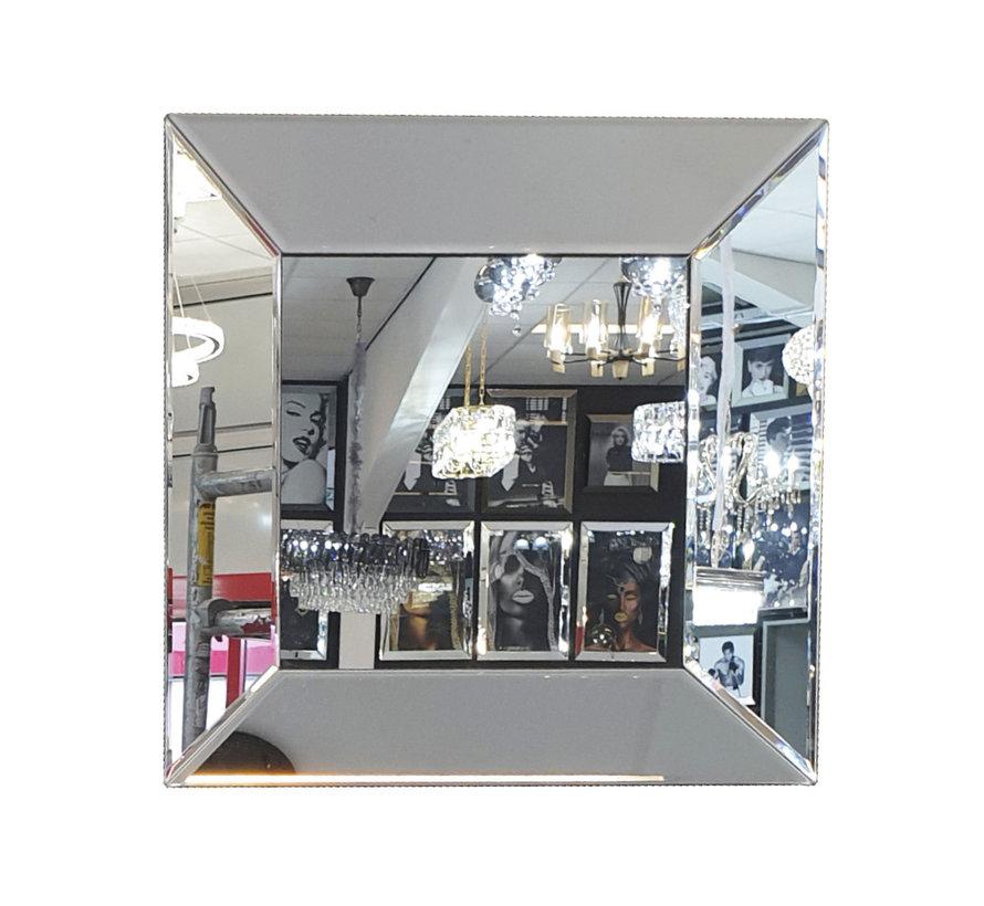 Spiegel - Zilver ( in 4 kleuren 40x40 cm)