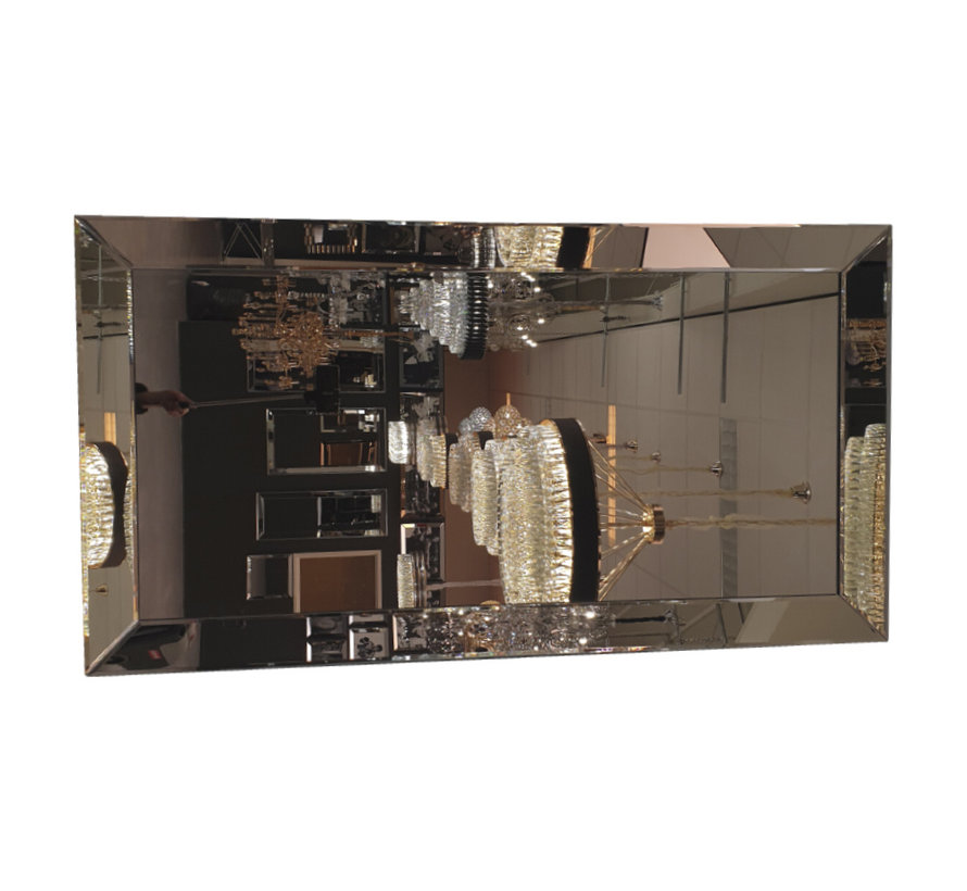 Spiegel (in 4 kleuren 100x200 cm)