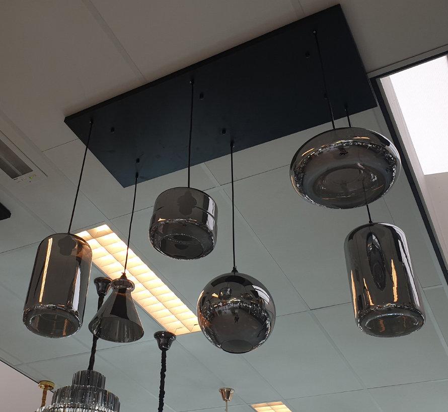 Hanglamp - Remix (Smoking Glass)