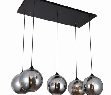 Erik Kuster Style Hanglamp - Succes (Smoking Glass)