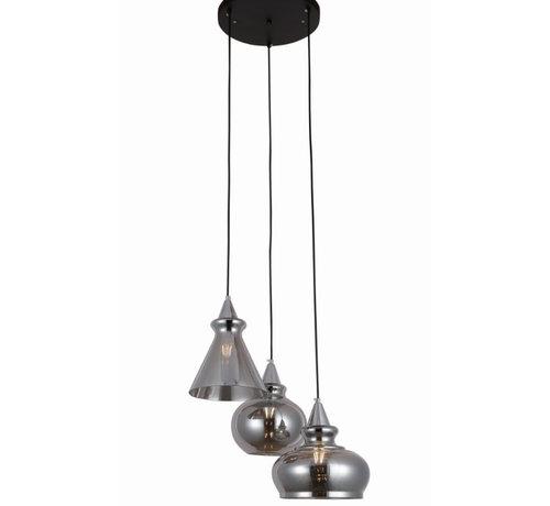 Erik Kuster Style Hanglamp - Fresca (Smoking Glass)