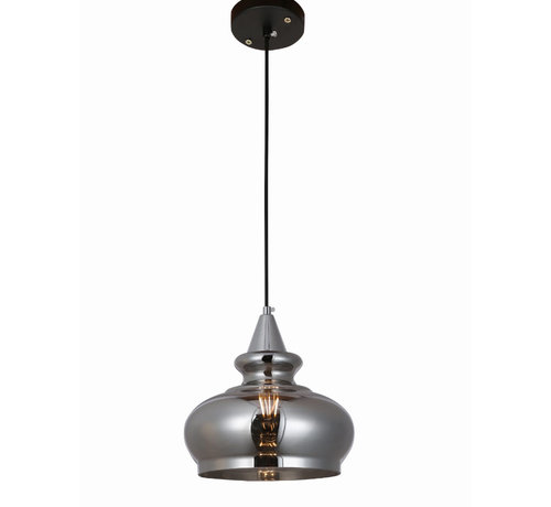 Erik Kuster Style Hanglamp - Selina (Smoking Glass)