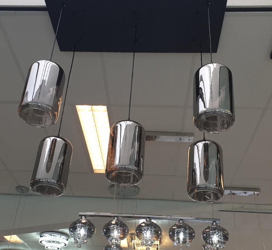 Hanglamp - Angelina (Smoking Glass)