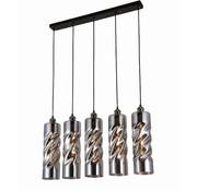 Erik Kuster Style Hanglamp - Savannah (Smoking Glass)