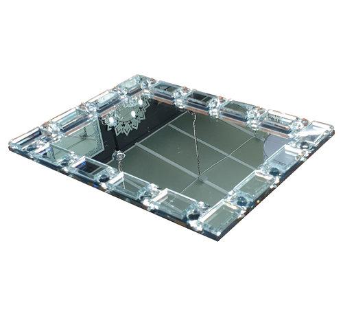 L&M Dienblad Valentina - Spiegelglas