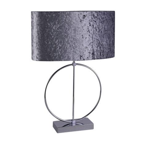 L&M Staande lamp - Anita (Zilver)