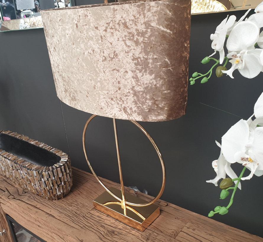 Staande lamp - Anita (Goud)