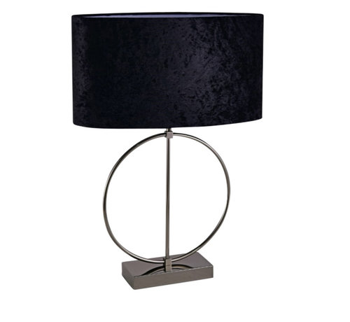 L&M Staande lamp - Anita (Antraciet)