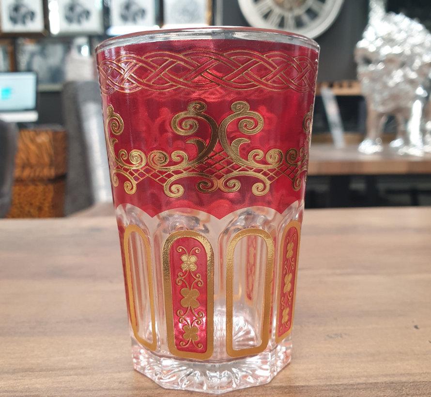 - Arabische Theeglazen (Red)