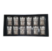 L&M - Arabische Theeglazen (Silver Three)