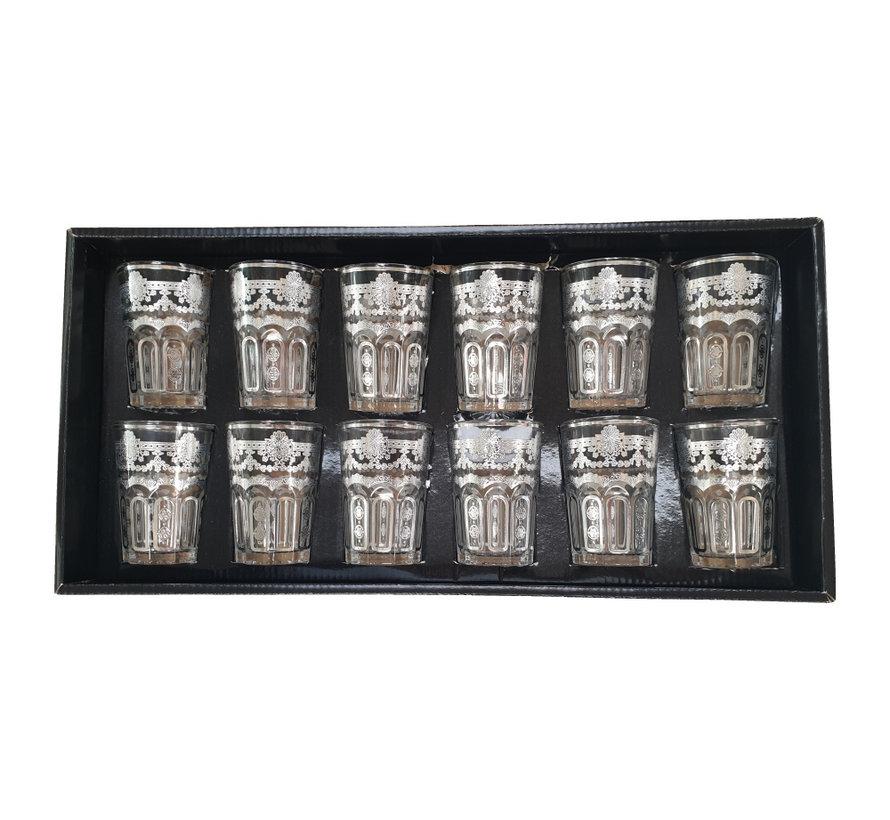- Arabische Theeglazen (Silver Three)