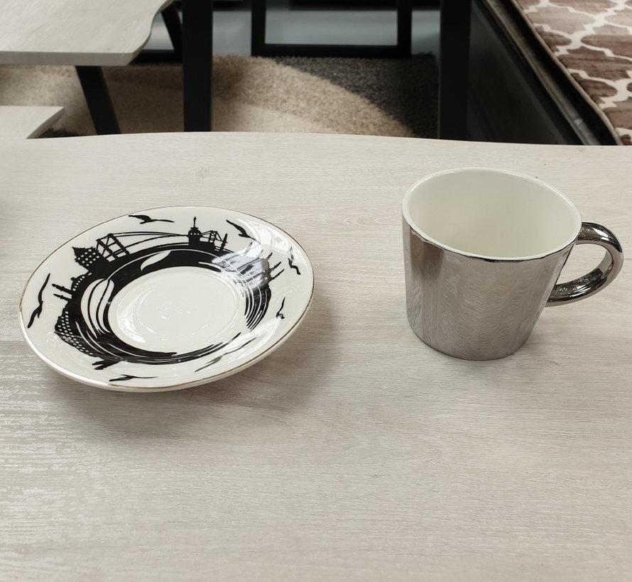 Kop en schotel - Silver (Special Effects)
