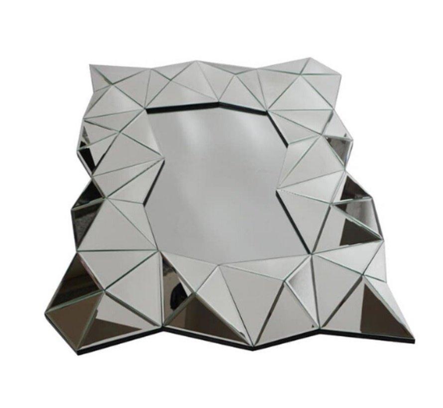 Aladin Antraciet Spiegel - Rechthoekig -  Spiegelglas