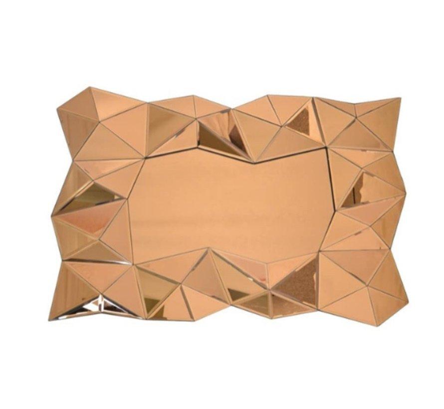Aladin Gouden Spiegel - Rechthoekig -  Spiegelglas