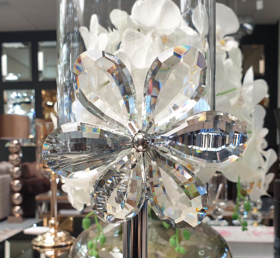 Kandelaar - Flower (Zilver)