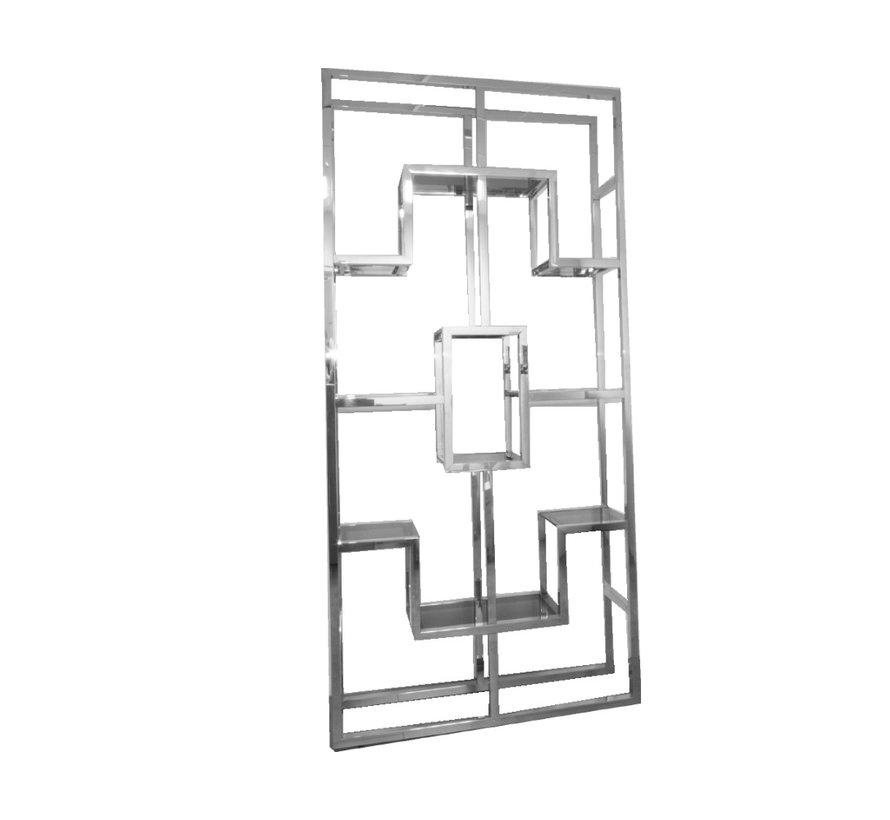 Wandmeubel Kennedy  Sideboard glas