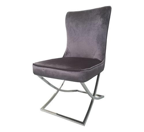 Rixos Stoel Style - Charcoal Grey