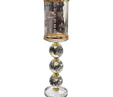 L&M Kandelaar Diamond - Gold