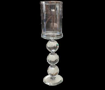 L&M Kandelaar Diamond - Silver