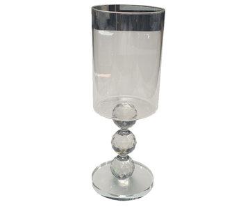 L&M Kandelaar Superdiamond - Silver (3 Maten)