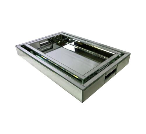 L&M Dienblad Amsterdam - Medium - 40 x 25 cm - Zilver