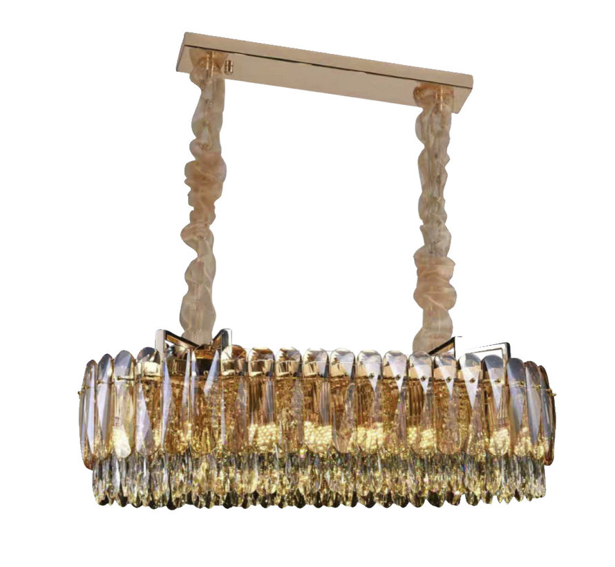 Hanglamp - Emilia  (100 cm)(Goud)