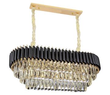 Erik Kuster Style Hanglamp - Pearl  (90 cm)(Chrome, Gold)