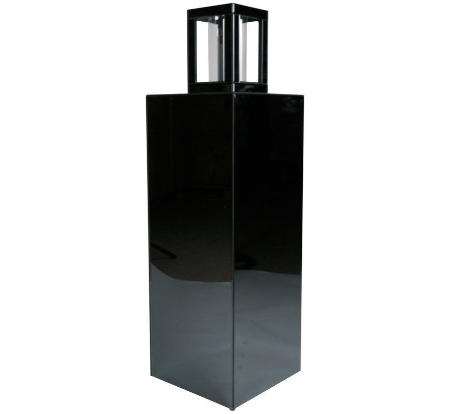 Waxinelichthouder Glas Eric Kuster Style 4 Kleuren - Antraciet