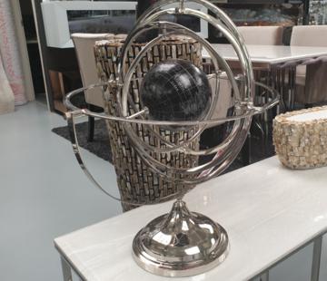 L&M Decoratieve wereld bol - M
