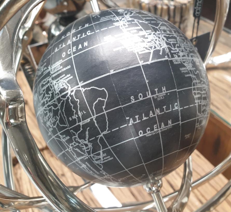 Decoratieve wereld bol - L