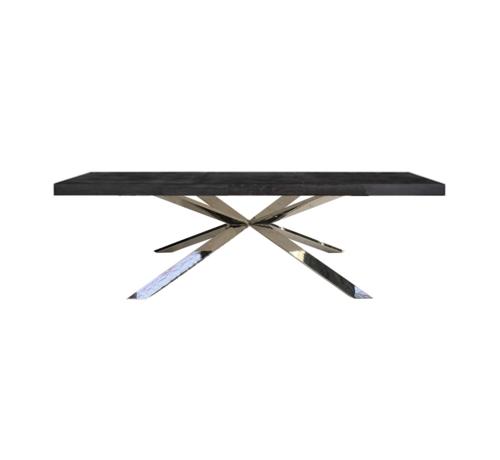 Black Bonita Eettafel - Verschillende Onderstellen