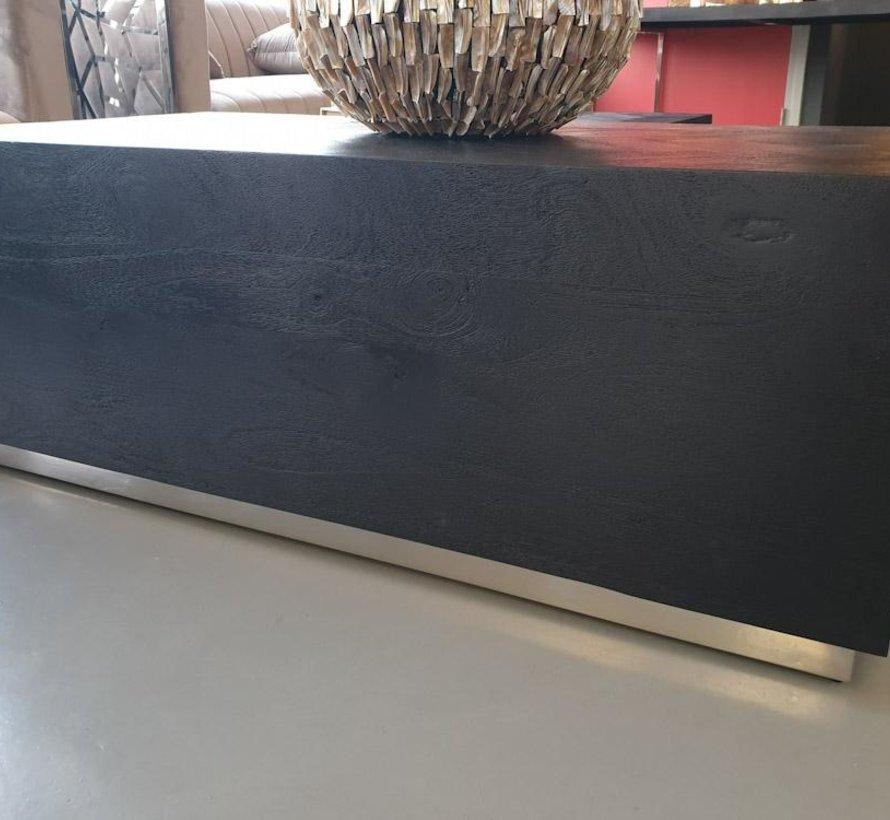 Black Bonita Bloktafel -  130 x 70 cm