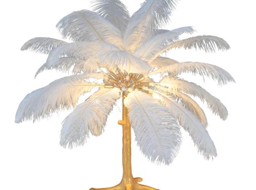 L&M Pre-Order Struisvogel Tafellamp OP=OP