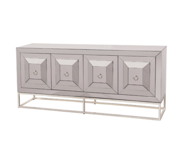 Dressoir New York - Antraciet of Sepia - 180 x 78 x 42 cm