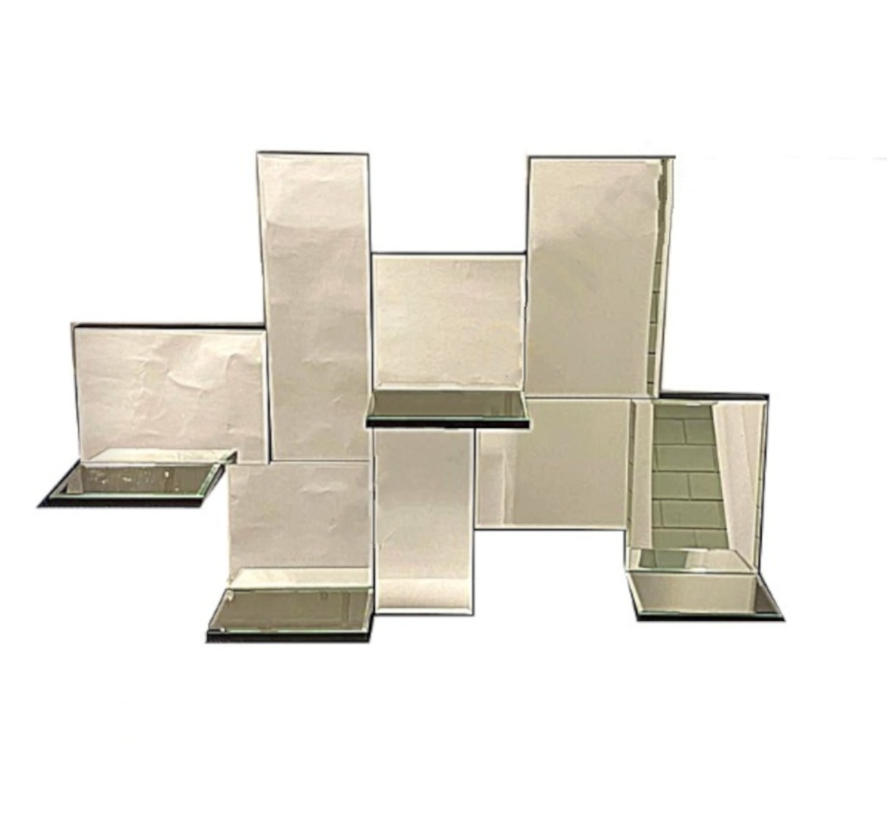 Spiegel Perfume Saca - Rechthoekig - 100 x 70 cm - Spiegelglas