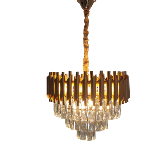 Erik Kuster Style Hanglamp Pearl - Gold