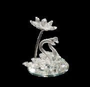 L&M Decoratieve Zwaan - Glas