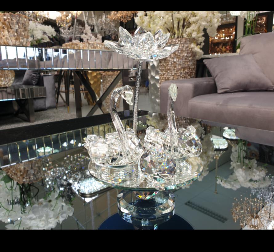Decoratieve Zwaan - Glas