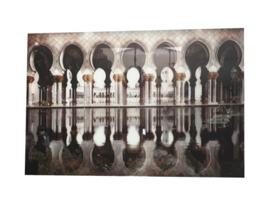 L&M Dubai - Art Glasschilderij