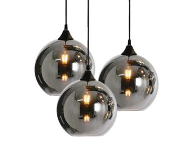 L&M Hanglamp Smoking - 3/5/9 lichts - mat zwart