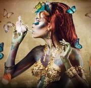L&M Magic - Art Glasschilderij