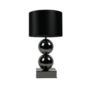 L&M Bollamp - Antraciet - Tafellamp - 2 Bollen