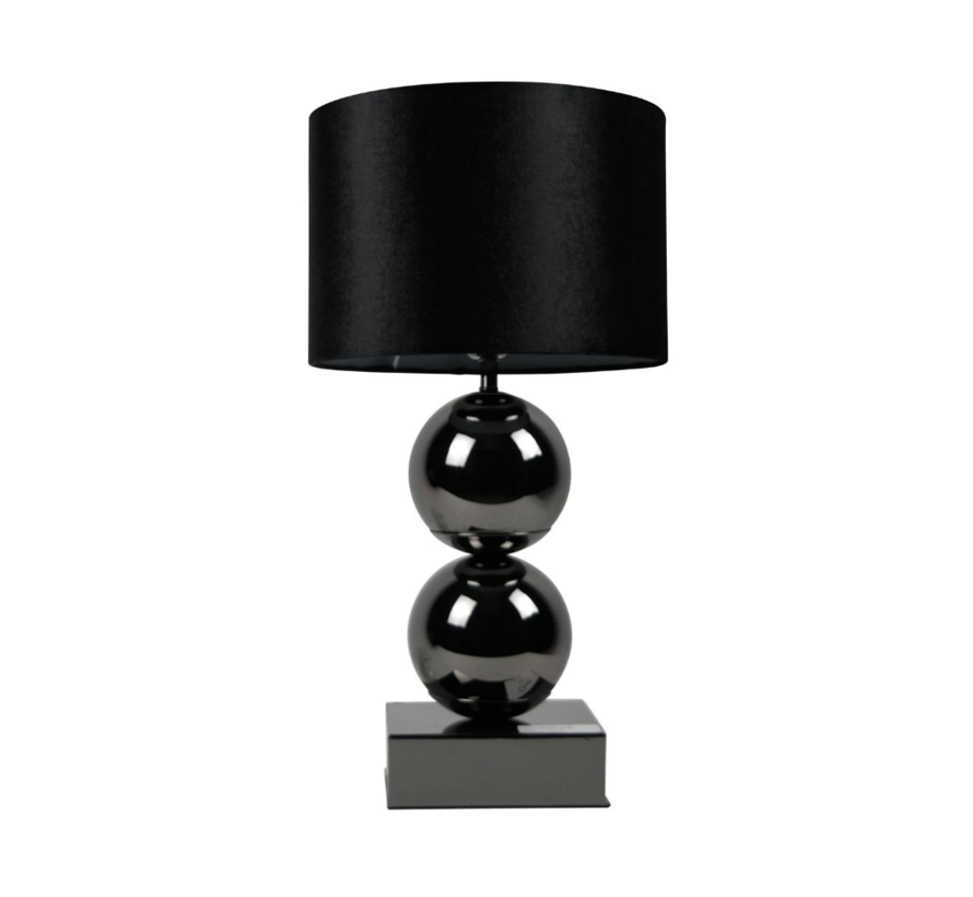 Bollamp - Antraciet - Tafellamp - 2 Bollen