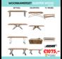 Woonkamerset - Sleeper Wood - Zilver