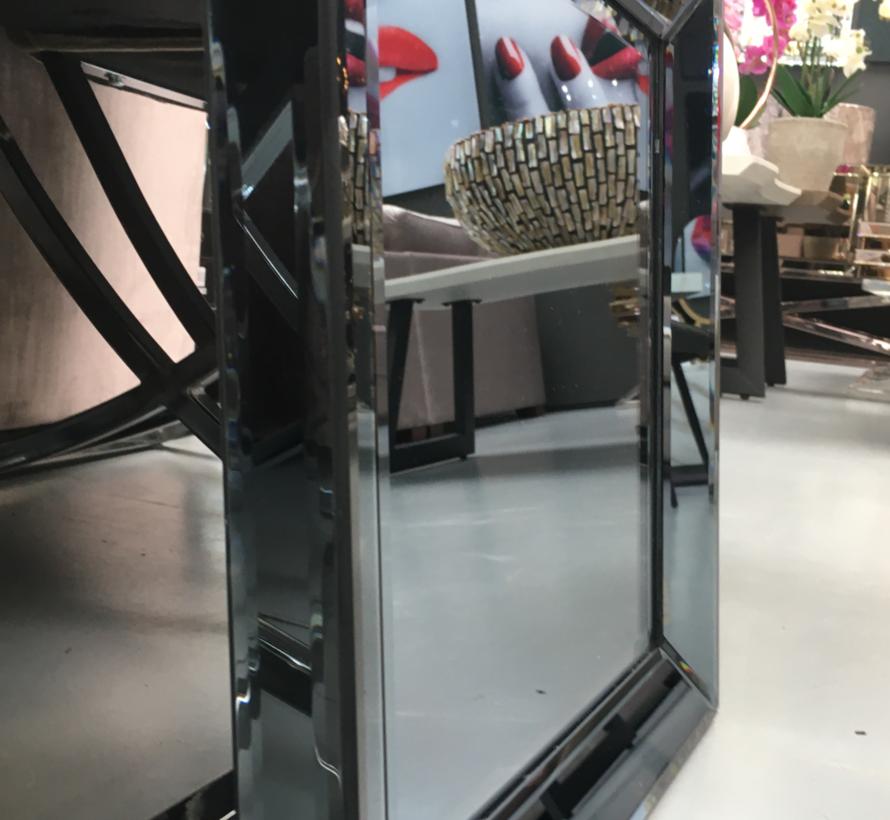 Eric Kuster Style Spiegel -  40 x 40 cm - Zilver en Gray