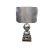 L&M Bollamp - Zilver - Tafellamp