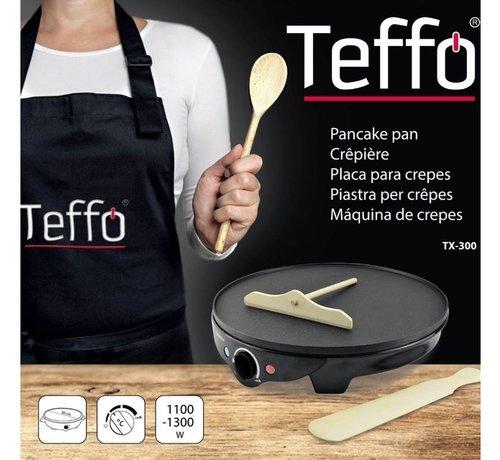 Teffo Elektrische Pannenkoekenpan I Teffo - Anti-aanbaklaag